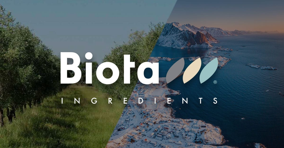 Biota Ingredients – New Distribution Partner