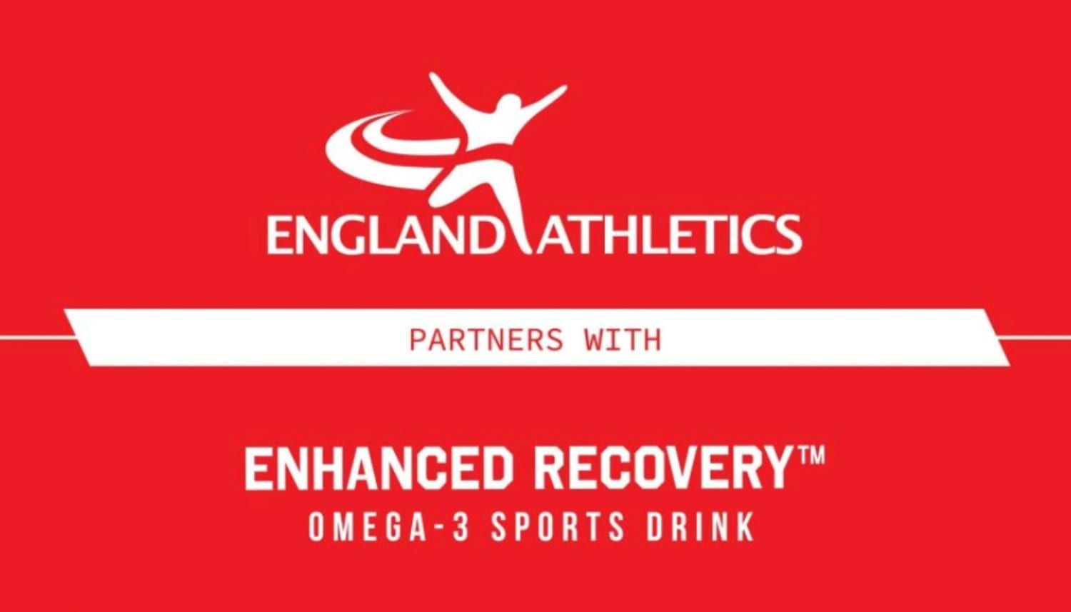 England Athletics announces new recovery drink partner