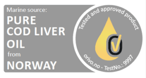 Marine source: Pure cod liver oil from Norway certification